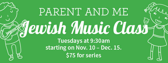 Music class Tuesdays November 10